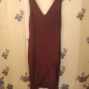 Charlotte Russe dark purple dress
